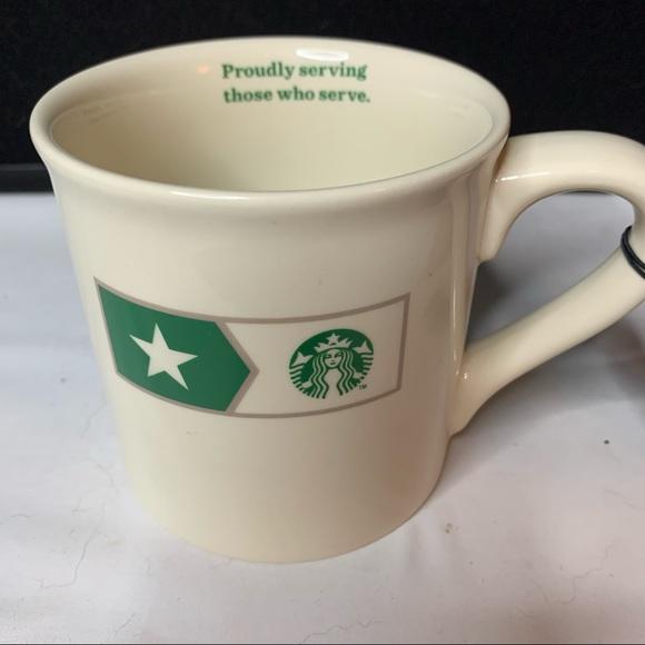 NWT STARBUCKS VETERANS CERAMIC CUP